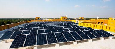 Manipal University Jaipur Rooftop Solar Plant