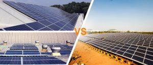 Solar Rooftop versus Solar Ground Mount